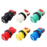 EG Starts 6x Happ Type Standard Push Buttons With Micro Switch - ( Each Colour of 1 Piece )