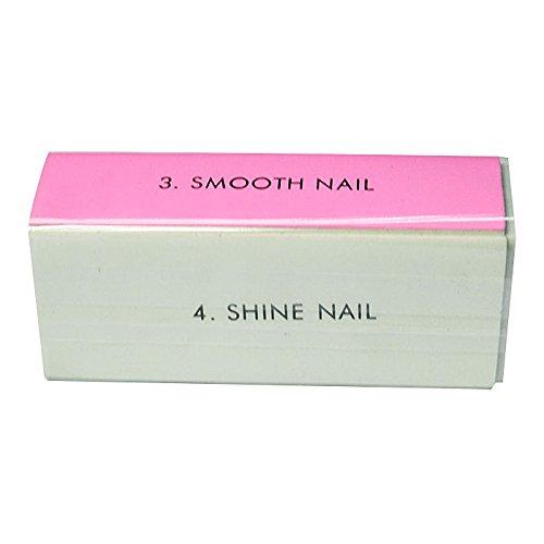 5PCS 4-WAY Buffing Sand File Nail Art Block Remove Smooth Shine Buffer Tools