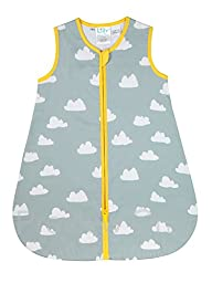 NEW! Organic Grey Cloud Baby Sleeping Bag TOG 1 - Large