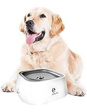 Bol d'eau pour Animaux de Compagnie, Anti-débordement Bol d'eau de flottabilité pour chien chats, Conteneur portable à boire potable intérieur extérieur, Bouche non mouillée Antidérapante Sans BPA