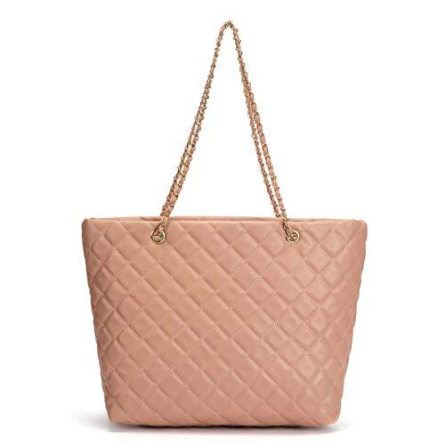 Large Capacity Work Tote Shoulder Bag (pink) ()