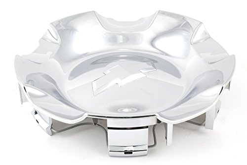 (GMC OEM New Wheel Hub Center Cap Chrome 11-14 Suburban Avalanche Tahoe 9597683)