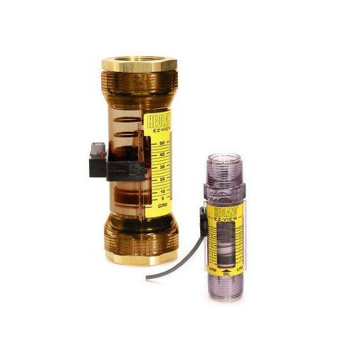 - Hedland Flow Meters (Badger Meter Inc) H624-704 - Flow Rate Hydraulic Flow Meter - 4 gpm Max Flow Rate, 1/2 NPTF in Port Size