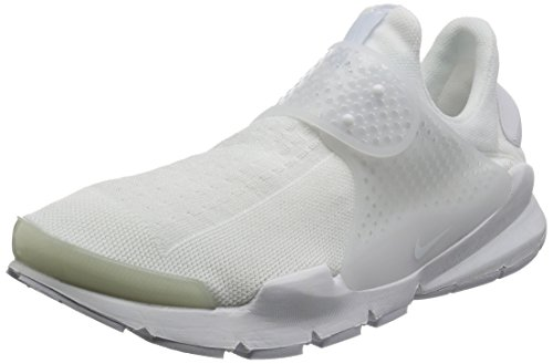 Nike Herren Sock Dart Laufschuhe White/White-white-black