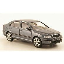 Skoda Octavia , metallic-grey, Model Car, Abrex 1:43