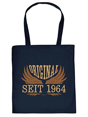 1964 Henkeltasche Beutel mit Aufdruck Tote Bag Tragetasche Must-have Stofftasche Geschenkidee Fun Einkaufstasche