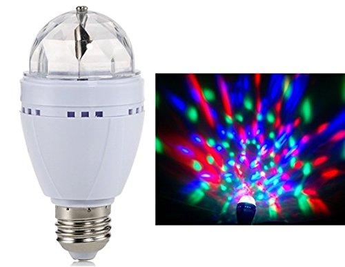 2 Pcs MELEA 3W 85-260V E27 Colorful LED Bulb Super Bright