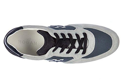 Hogan BabyschuheSneakers Kinder Baby Schuhe Turnschuhe Wildleder olympia x blu
