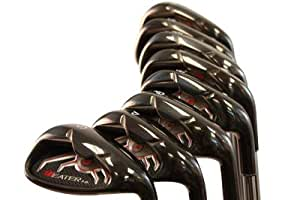 heater 3 0 series black plasma golf iron set. Black Bedroom Furniture Sets. Home Design Ideas