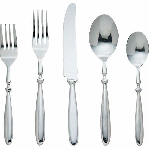 Nikita Bistro Forged Stainless Steel Flatware Set by Nikita Bistro (Nikita Bistro Flatware)