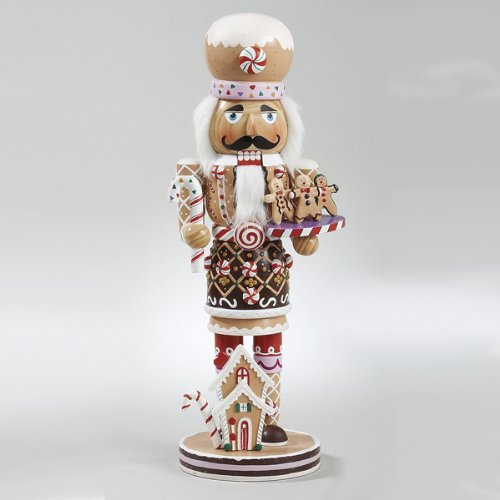 Kurt Adler 16-Inch  Wooden Gingerbread Christmas Nutcracker from Kurt Adler