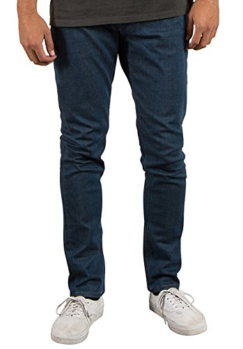 Volcom Solver Tapered - Pantalones Vaqueros Hombre azul (free blue)
