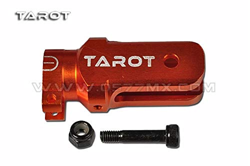 Alloy Metal Main Rotor - Part & Accessories 450 Flybarless DFC Helicopter Part Tarot Split type metal main rotor holder orange white black TL48014-01 TL48014-02 TL48014-03 - (Color: Orange)