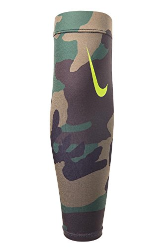 Nike Pro Combat Amplified Shiver 3.0,Osfm(Iguana/Forest/Turk (Forearm Shiver Pad)