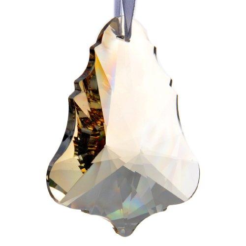 H&D Large 10pcs 76mm K9 Crystal Maple Leaf Shape Chandeli...