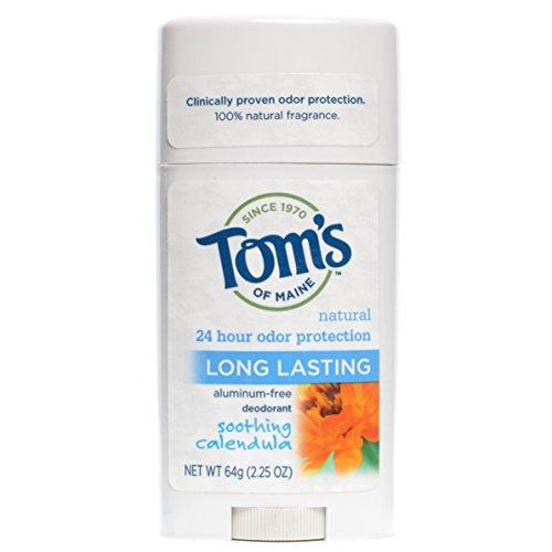 Tom s of Maine Natural Care Deodorant Stick Calendula 2.25 oz Pack of 12