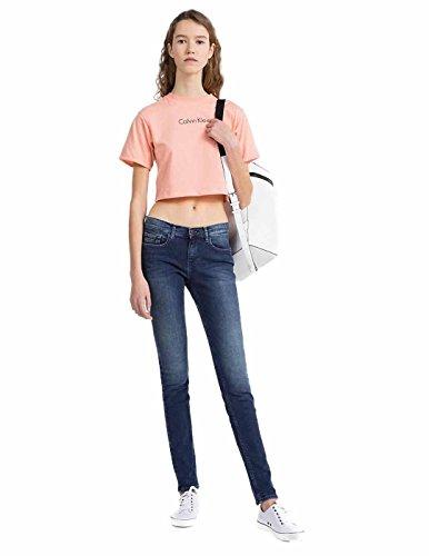 Donna Mr Calvin Blue Highline Blu Skinny Klein Jeans qSCwfxTg