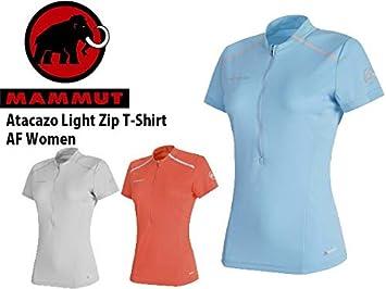 Mammut Womens Atacazo Light Zip T-Shirt
