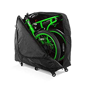 Pedego Latch Folding Electric Bike Travel Bag with Casters