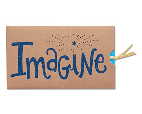 American Greetings Imagine Graduation Card with Glitter