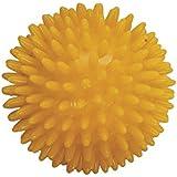 Balle hérisson de massage 8 cm jaune - PATTERSON MEDICAL