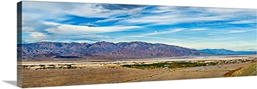 Furnace Creek Ranch, Eradication Valley, Death Valley National Park, California Gallery-Wrapped Canvas