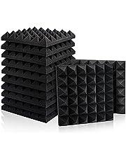 Juego de 12 paneles de espuma acústica