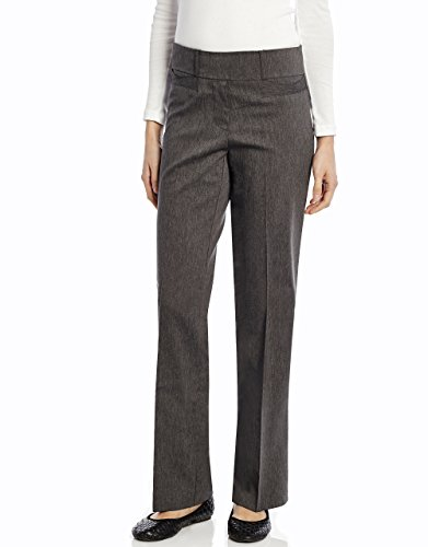 (Leveret Women Boot Cut Pants (16, Grey))