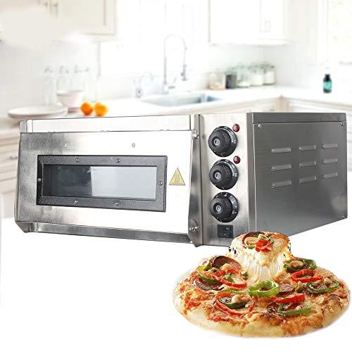Pizzaoven, 20L Elektrische Pizza Oven Cake Brood Roasted Chicken Pizza Cooker Commercieel Gebruik Keuken Bakovens Met…