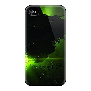 Durable Alien Isolation Back Cases/covers For Iphone 4/4s