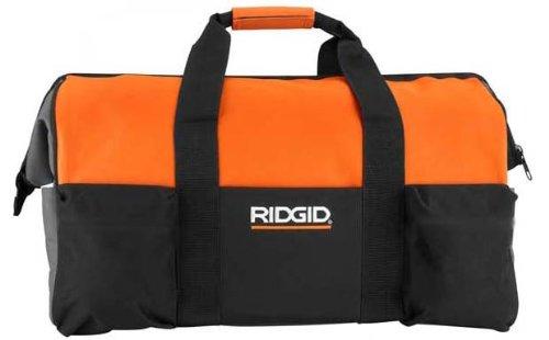 "Ridgid Large Heavy Duty Big-mouth Tool Bag 22"" X 12"" X 11"""