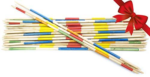 Giant Pickup Sticks - Striker Games - Mikado Giant Pick-Up Sticks - Giant Outdoor Games/Outdoor Toys Factory Defect