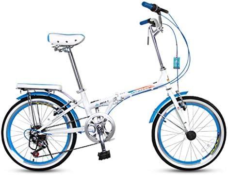 男女兼用の大人のための都市バイク20インチ7速の通勤用自転車の折目の高炭素の鉄骨フレーム