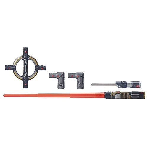 Star Wars BladeBuilders Spin-Action Lightsaber]()