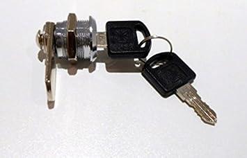 Barillet Boîte Au Lettre 30mm Fermeture Meubles Serrure Battante Vitrine à Came Batteuse