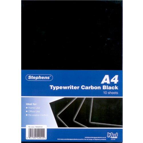 Stephens Rs520153 40g Typewriter Carbon Paper