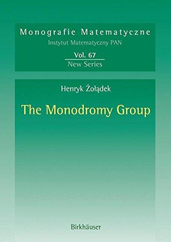 Read Online The Monodromy Group (Monografie Matematyczne) pdf epub