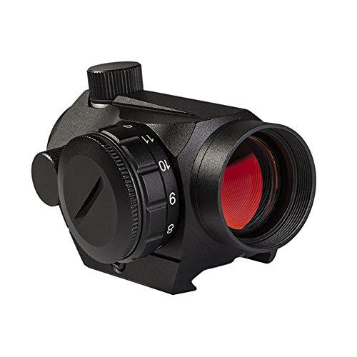 Adwits Micro Sport Red Dot Collimator Reflex Sights Gunscope Flip-Open Lens Caps (2 MOA)