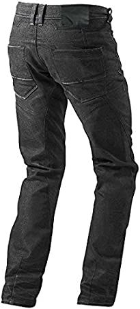 JET Pantalon Moto Homme Jeans Kevlar Aramid avec Armure 5XL Noir, 60 Longue//Taille 44 Longueur 34