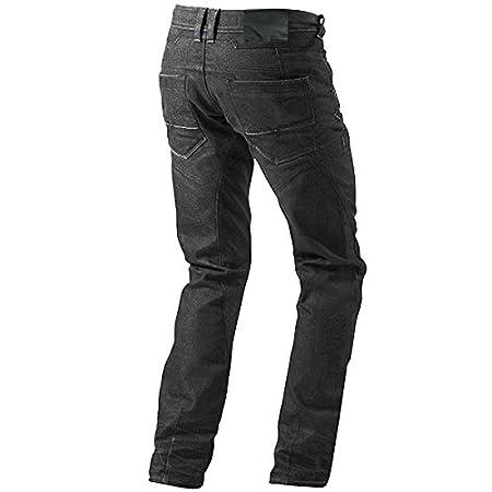 , Schwarz Jet Motorradhose Jeans Kevlar Aramid Mit Protektoren Herren 2XL 54 Regul/är//Weite 38 L/änge 32