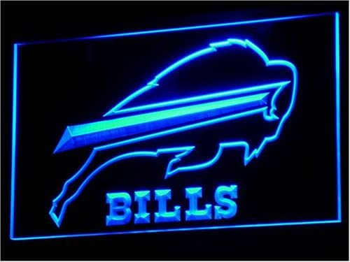 Buffalo Bills License Plate NFL Metal Sign Football Sports Man Cave