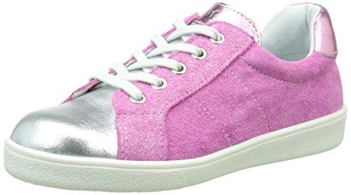 Minibel Klasic Mädchen Sneaker Silber - Argent (83 Argent/Paillet Fushia)