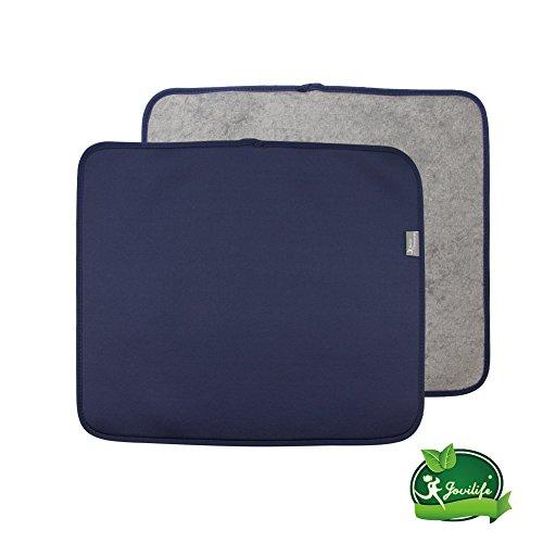haifu Y.VN 16 by 18-Inch Microfiber Dish Drying Mat -2 pack,