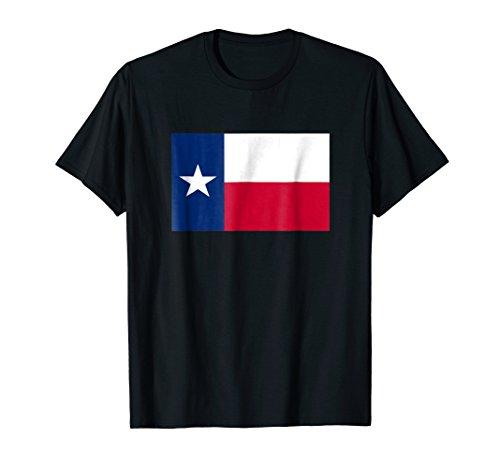 Texas Flag Lone Star State Vintage Texan Cowboy T Shirt -