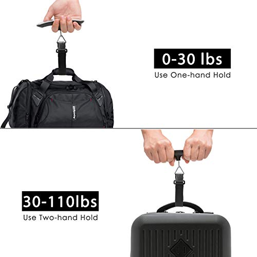 Luxebell 110lbs Digital Luggage Scale - Gift for Traveler