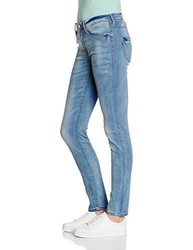 Bleached 102 Skinny Blue Light Women's ICHI Jeans Blue 4OzwTW
