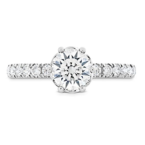 BIS Solid Gold Proposal Band Color H-I Clarity VVS1 Round Cut 1.20Ct...