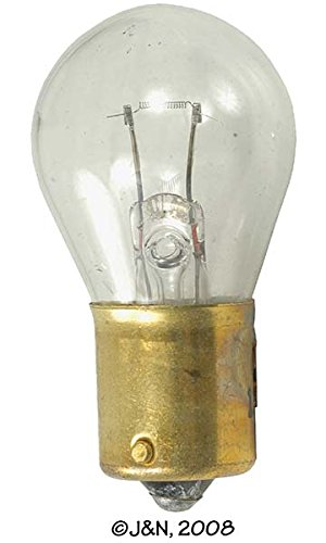 1252 - Eiko, Light Bulb, 24V, Incandescent, White, G-6 Bulb, DC Bayonet Base - Pack Of 10 (Light White Eiko Incandescent Bulb)