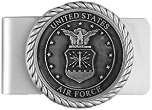 USAF Air Force Money Clip with Raised Emblem