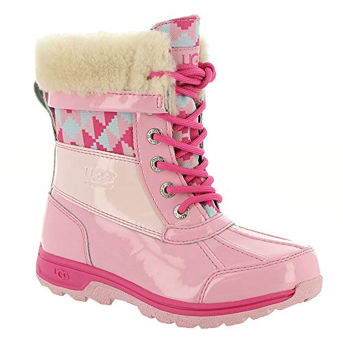 UGG Girls' K Butte II Patent Truckee Cwr Snow Boot, for sale  Delivered anywhere in USA